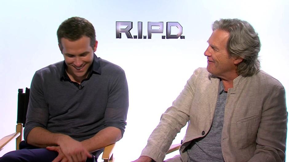 Jeff Bridges and Ryan ... Ryan Reynolds